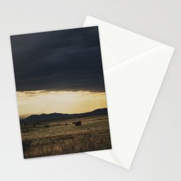 a new mexico storm ... Stationery Cards