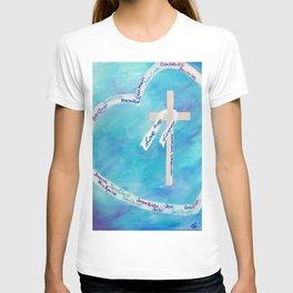 Love In Any Language Cross T-shirt
