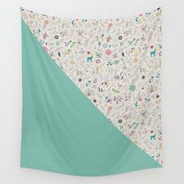Pez Otomi mint by Ana Kane Wall Tapestry