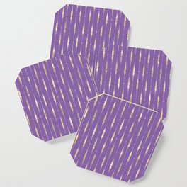 old violet great coat. Coaster
