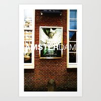posters Art Prints featuring Amsterdam Posters by Cristhian Arias-Romero