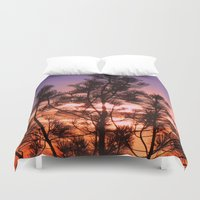 paradise Duvet Covers featuring Paradise by Mary Spinney