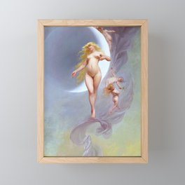 "Luis Ricardo Falero ""The Planet Venus"" Framed Mini Art Print"