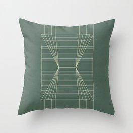 Meadow Bookbinding Throw Pillow