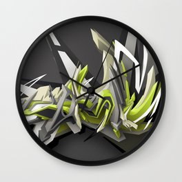 Swinging DAIM Wall Clock