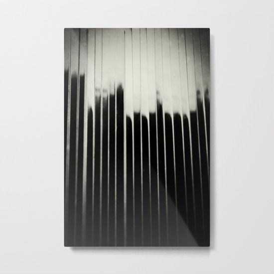 STEEL & MILK Metal Print
