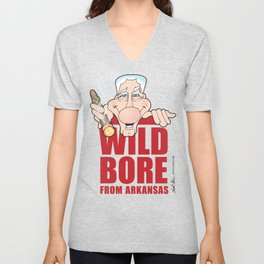 Wild Boar & Bill the Bore! Unisex V-Neck