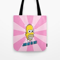 Brave Corporate Logo Tote Bag