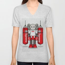 Kaws Art Unisex V-Neck