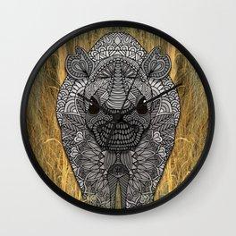 Ornate Rino Wall Clock