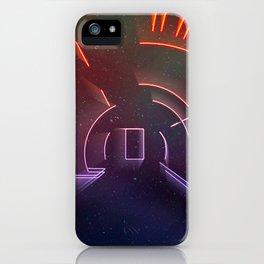 Virtual Galactic Gateway iPhone Case