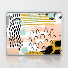 Ames - abstract painting hipster home decor trendy color palette art gifts Laptop & iPad Skin