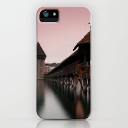 The Chapel Bridge iPhone Case