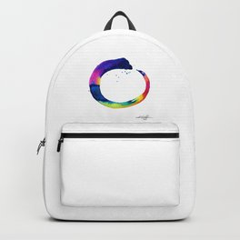 Enso Of Zen No. 16 by Kathy Morton Stanion Backpack