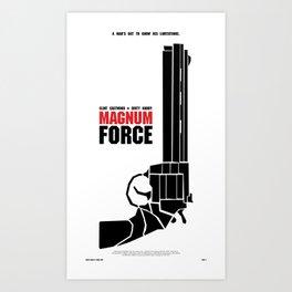 Magnum Force Art Print