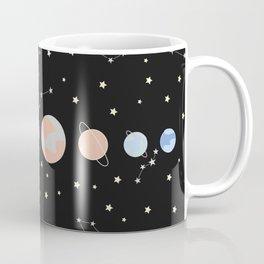 For You - Solar System Illustration Coffee Mug