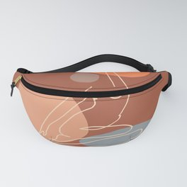 Abstraction_SUNNY_YOGA_Minimalism_001 Fanny Pack