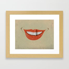 Chemical happiness Framed Art Print