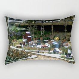 Texas Train Rectangular Pillow