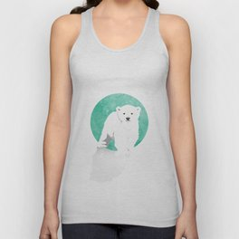 Snow Bear Unisex Tank Top