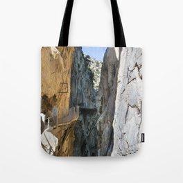 Caminito del Rey - Spain Tote Bag