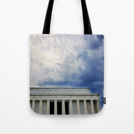 Dramatic Background Tote Bag