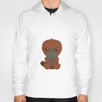 platypus Hoodies featuring Platypus by triduscraft