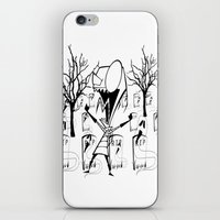 invader zim iPhone & iPod Skins featuring invader zim by LCMedia