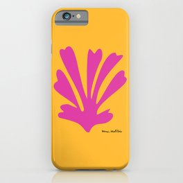 Henri Matisse, Palm Cut Out, 1943 Artwork Reproduction for Wall Art, Prints, Posters, Tshirts, Men, Women, Kids iPhone Case