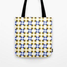 Sunflower Floral Pattern Tote Bag