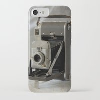 polaroid iPhone & iPod Cases featuring Polaroid by Colleen G. Drew