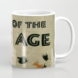Tales of the Jazz Age vintage book cover - Fitzgerald Coffee Mug