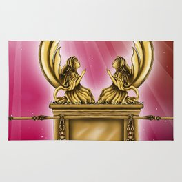 ark of the covenant Rug