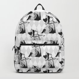 Queen of Hearts Wonderland Pattern C15 Alice in Illustration Backpack