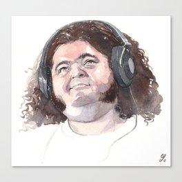 Jorge Garcia (Hurley) Canvas Print