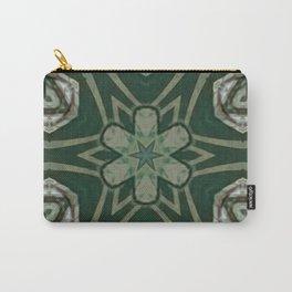 The Green Unsharp Mandala 4 Carry-All Pouch