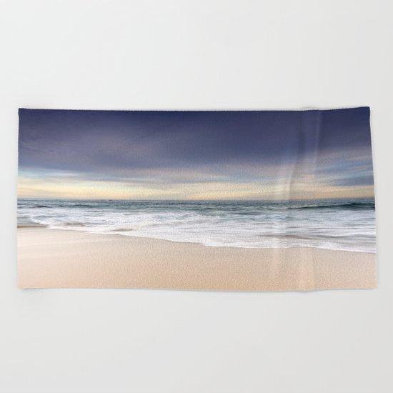 Tranquil Beach Beach Towel