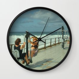 Canarian Exercise Wall Clock