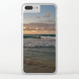 Swept to Sea Clear iPhone Case