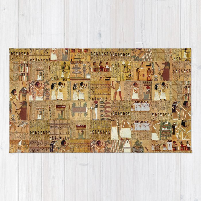 Egyptian Book Of The Dead Rug