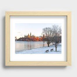 Beautiful Ottawa Recessed Framed Print