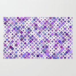 Purple Squared Rug