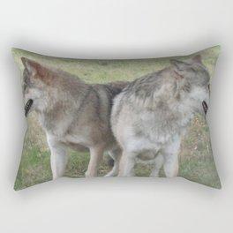 Joined at the hip Rectangular Pillow