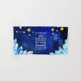 Star and Diamonds Hand & Bath Towel