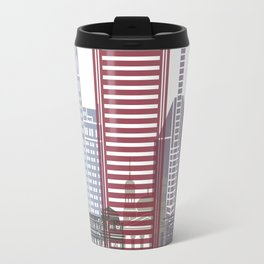 Baltimore skyline poster Travel Mug