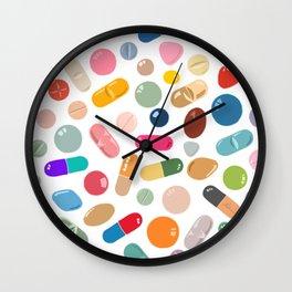 Sunny Pills Wall Clock
