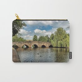 5 Arches of Bakewell Bridge Carry-All Pouch