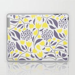 Yellow flowers field Laptop & iPad Skin
