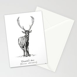 Thorold's deer Stationery Cards