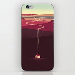 Long Way Home iPhone Skin